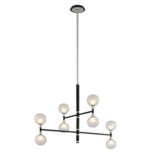 Brayden Studio Ewalt 8-Light Sputnik Chandelier