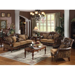 Astoria Grand Beare 3 Piece Living Room Set