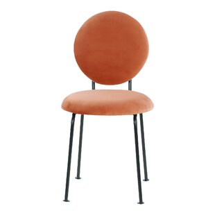 Medallion Upholstered Dining Chair By Happy Barok