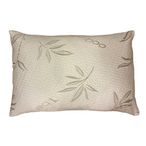 Rayon from Bamboo Hypoallergenic Memory Foam Pillow (Set of 2) by D-Art Collection