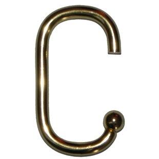 Antique Brass Shower Hooks