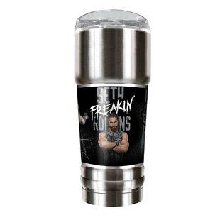 WWE Seth Rollins Vacuum 32 oz. Stainless Steel Travel Tumbler