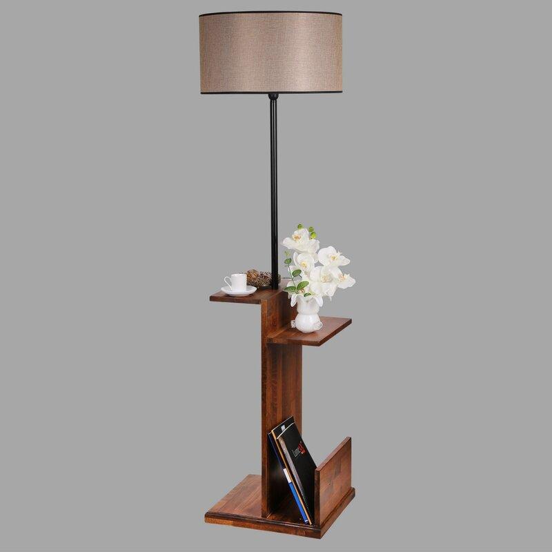 Ebern Designs Terrazzo 170cm Tray Table