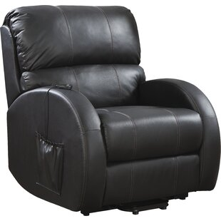 Plains Chaise Power Lift Assist Recliner By Wildon Home®