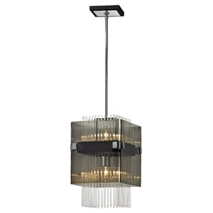 Troy Lighting Apollo 2-Light Square/Rectangle Pendant