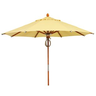 Deluxe Wood 8' Market Umbrella