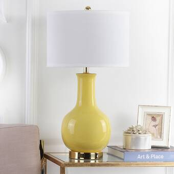 Erik 71cm Table Lamp Canora Grey Base