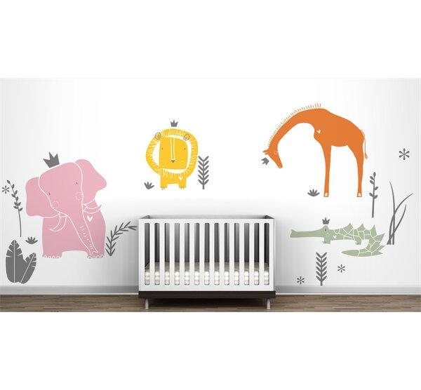 Littlelion Studio Royal Safari Mural Wall Decal Wayfair