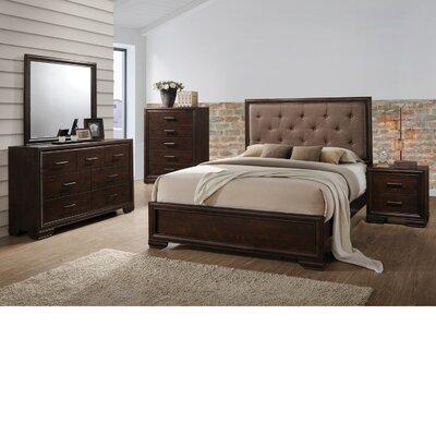 Westphal Standard 4 Piece Bedroom Set Bed Size: Queen