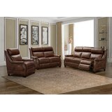 Charlotte Leather Configurable Living Room Set by Canora Grey