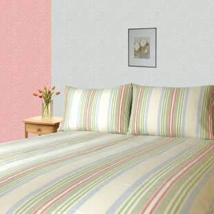 Huseman Twill Striped 300 Thread Count 100% Cotton Sheet Set