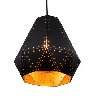 Affordable Foulks 1-Light Geometric Pendant By Wrought Studio