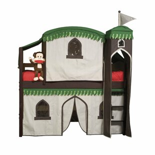 Bargain Bonneau Twin Low Loft Bed with Tower by Harriet Bee Reviews (2019) & Buyer's Guide