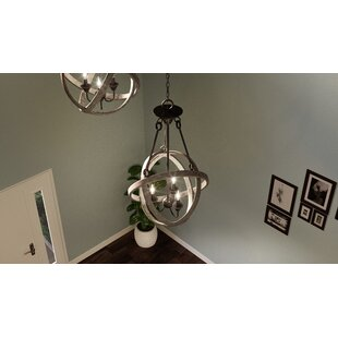 Compare Vigue 3-Light Chandelier By Gracie Oaks