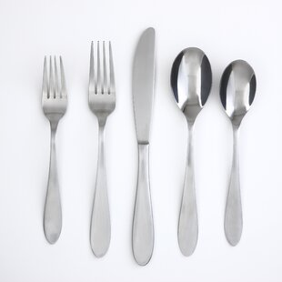 Apex 20-Piece Flatware Set, Service for 4