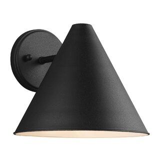 Coupon Dedmon 1-Light Outdoor Wall Lantern By Mercury Row