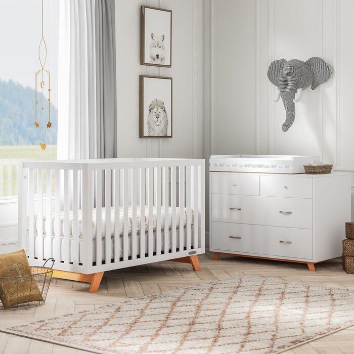 Kaiser Point 4 In 1 Convertible Standard 3 Piece Nursery Furniture Set