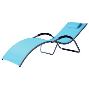 Sylvaner Single Sun Lounger By Sol 72 Outdoor