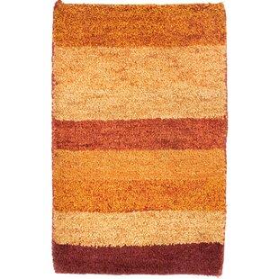 Tennyson Handwoven Wool Red/Yellow/Orange Indoor/Outdoor Rug By Ebern Designs