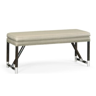 Campaign Upholstered Bench