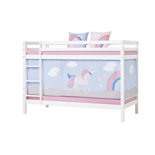 Basic Bunk Bed With Curtain By Hoppekids