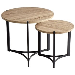 Tri 2 Piece Nesting Tables by Cyan Design
