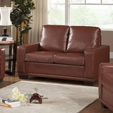 56 Square Arm Loveseat by InRoom Designs