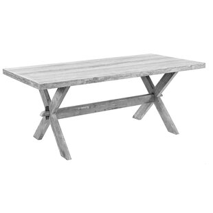 Pine Solid Wood Dining Table by Sarreid Ltd