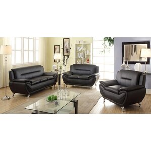Bergenfield 3 Piece Sofa Set Awesome Design