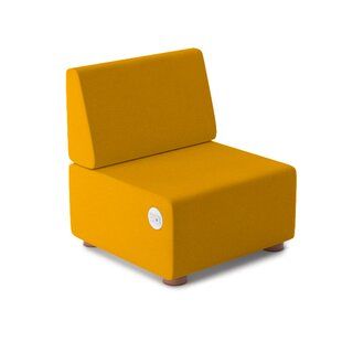 Pods  Dre Vinyl 1 Seater Lounge Chair by Palmieri