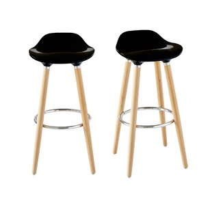 Colne Low Back 29 Bar Stool (Set of 2) Ebern Designs