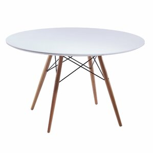 Bevis Round Dining Table by Ivy Bronx