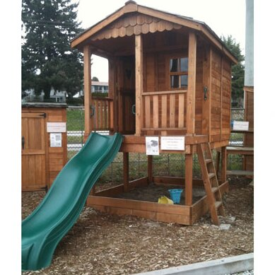 Outdoor Living Today 8' x 10' Playhouse