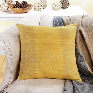Gammage Cruelty Free Silk Throw Pillow