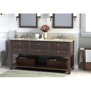Camber 72 Double Bathroom Vanity Set by Lanza
