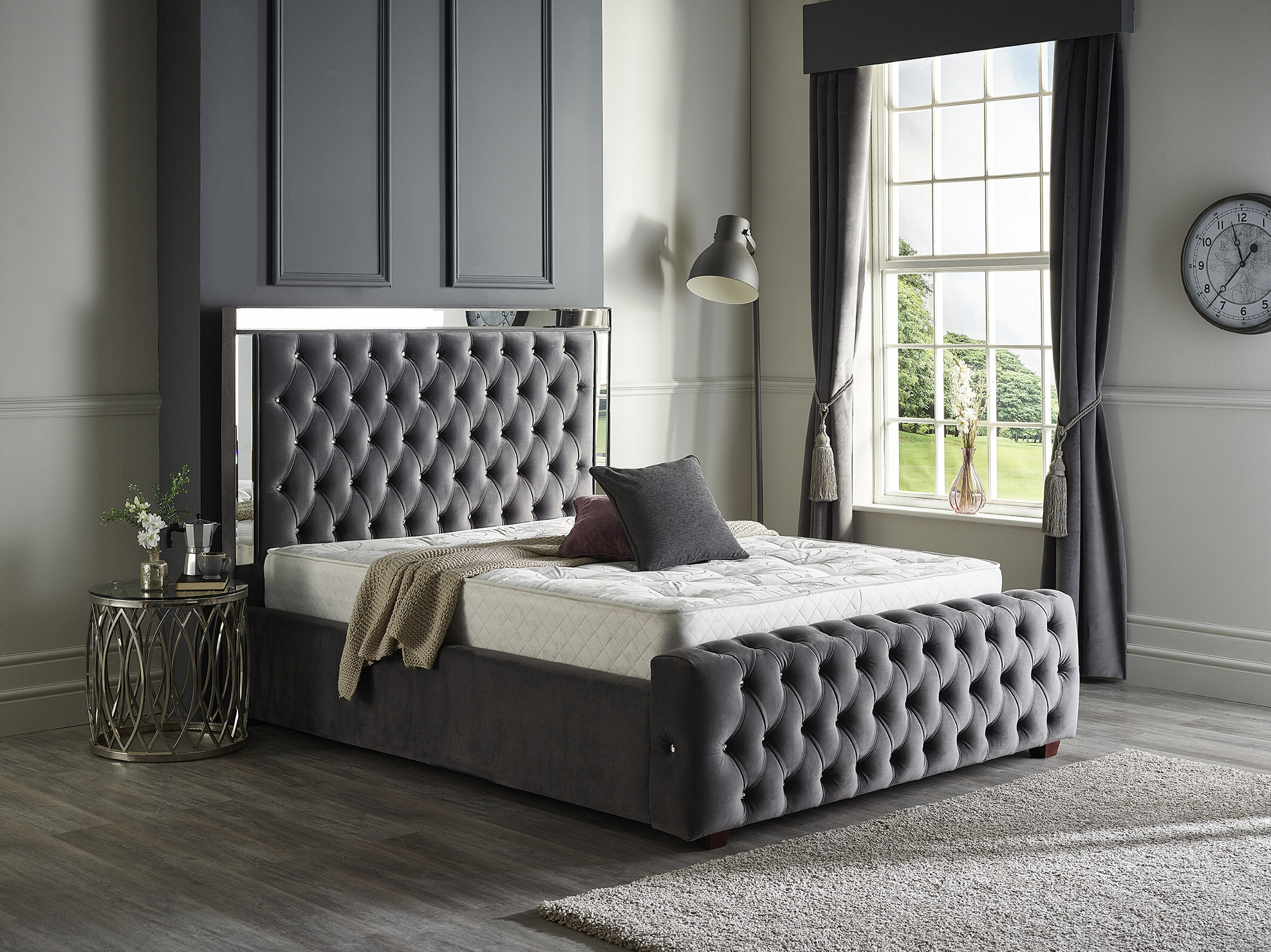Canora Grey Kaleb Upholstered Bed Frame