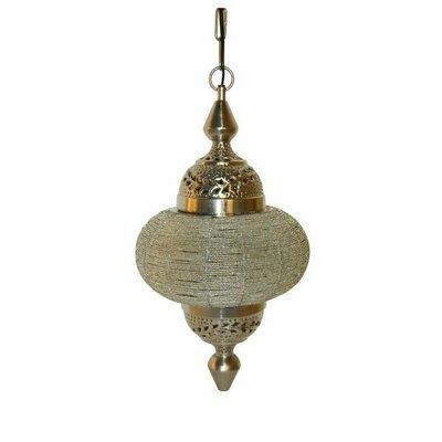 Light & Living Soraya Handcrafted Hanging Chain Beads 1-Light Pendant