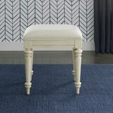 Fredricks Faux Leather Bench by One Allium Way®