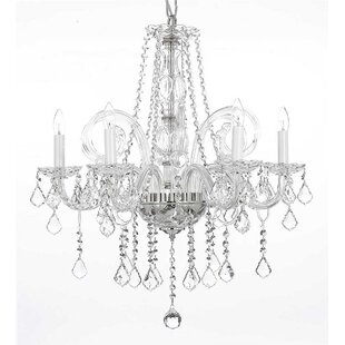 Price Check Keech 5-Light Candle Style Chandelier By House of Hampton