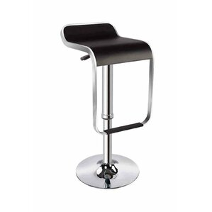 Ellie Adjustable Height Swivel Bar Stool by dCOR design
