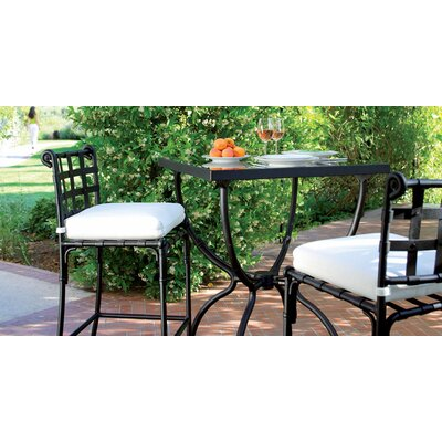 Aikens 3 Piece Bistro Set With Cushions by One Allium Way #1