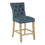 Danna 24 Bar Stool With Cushion (Set of 2) by One Allium Way®