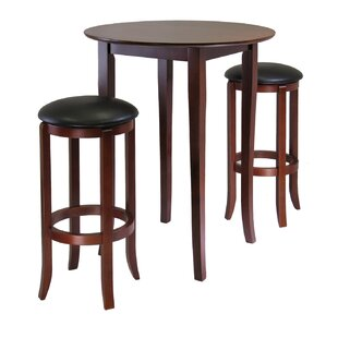 Fiona 3 Piece Pub Table Set by..