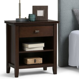 Simpli Home Artisan 1 Drawer Nightstand
