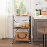Drew Kitchen Cart by Foundry Select