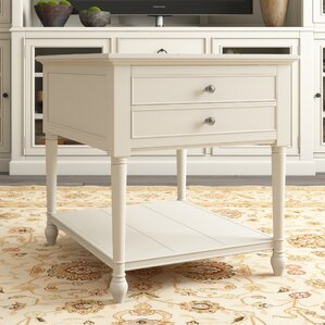 Canora Grey Payton End Table With Storage Image