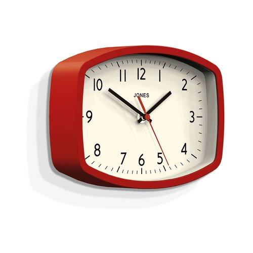 Analoge Wanduhr Sketch Jones Clocks Farbe: Rot | Dekoration > Uhren > Wanduhren | Jones Clocks