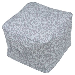Charlton Home Bearse Pouf Self Welt Ottoman