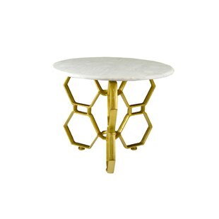 Rojo 16 Hex End Table