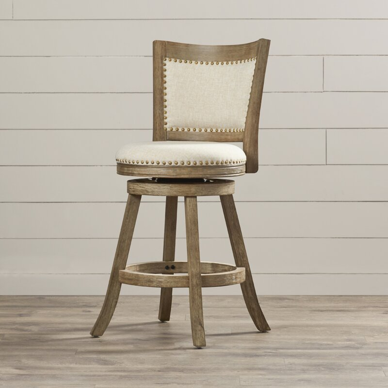 Greyleigh Guilford 24 Swivel Bar Stool Reviews Wayfair